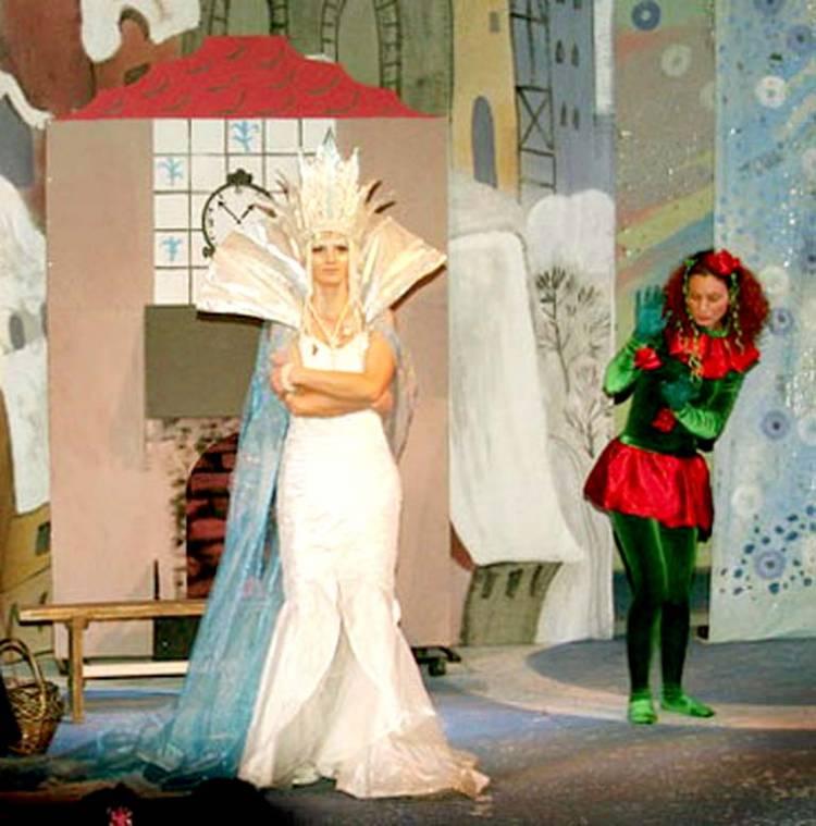 Детский театрализованный сценарий на новый год снежная королева