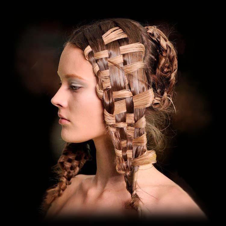 Как сделать средневековую прическу на средние волосы